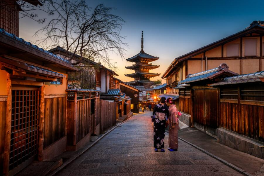 Best cities to study in Japan - Kyoto