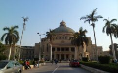 Cairo University is the largest in Africa in number of students