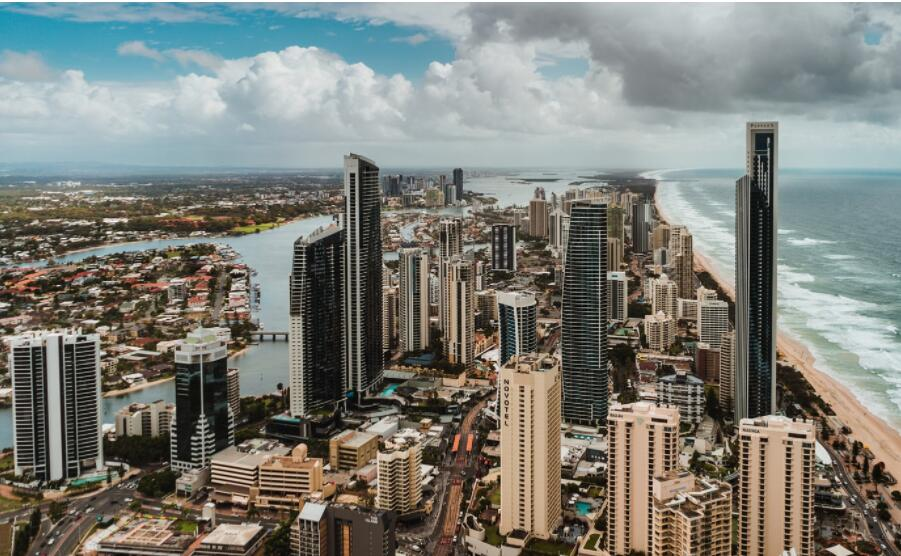 Gold Coast is famous for its beaches and skyscrapers