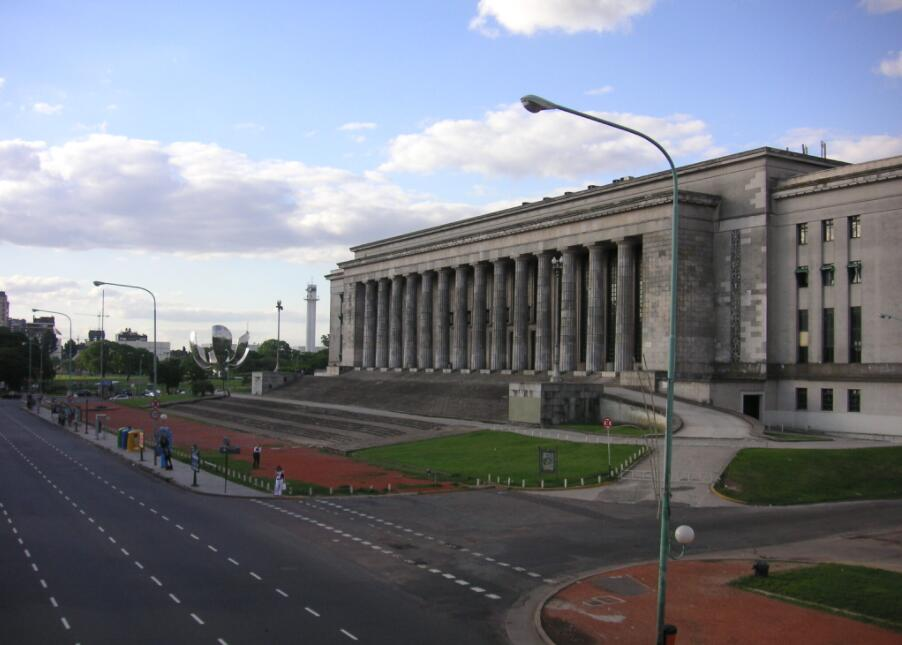 The University of Buenos Aires is the largest in number of students in South America