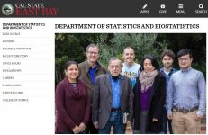 The Department of Statistics and Biostatistics at the California State University East Bay